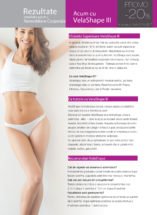 tratament velashape 3 remodelare corporala